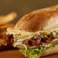 Sandwich de lomito, un gran platillo argentino para los amantes de la carne